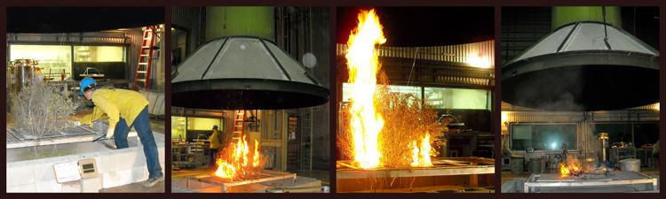 Missoula Firelab Burn Chamber Experiments SERDP 2009