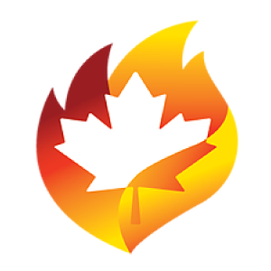 Canada Wildfire Icon and Link
