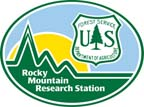 USFS Rocky Mountain Research Station logo
