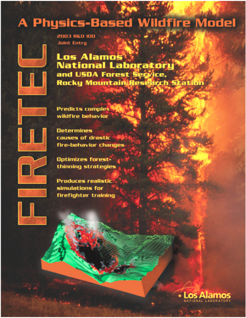 FIRETEC graphic