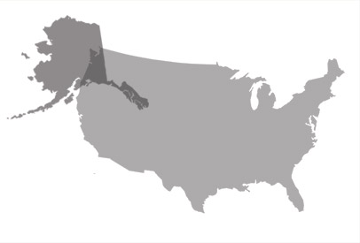Alaska map