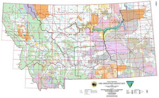wyoming blm maps pdf Montana Fire Operations Maps wyoming blm maps pdf