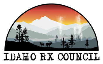 Idaho Prescribed Fire Council scene logo