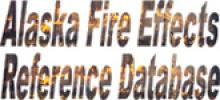Alaska Fire Effects Reference Database