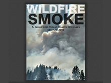 "front cover of ""wildfire smoke a guide for public health officials"""